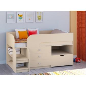 Детская кровать-чердак Астра 9 V5 Дуб молочный