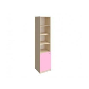 Колонка закрытая 1/3 Дуб молочный - Розовый