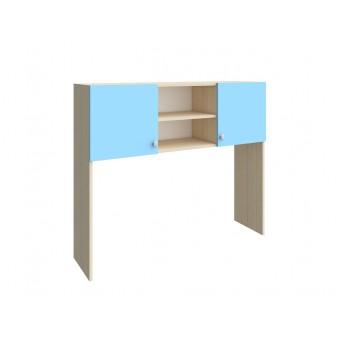 Надстройка стола Дуб молочный - Голубой
