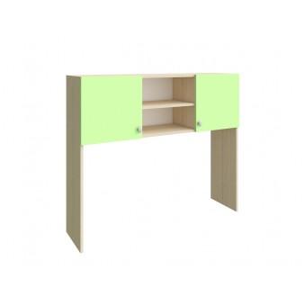 Надстройка стола Дуб молочный - Салатовый