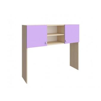 Надстройка стола Дуб молочный - Фиолетовый