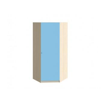 Шкаф угловой Дуб молочный - Голубой