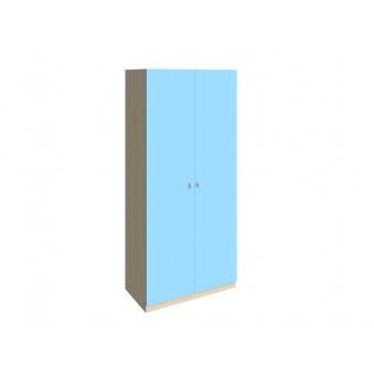 Шкаф 45 Дуб молочный - Голубой