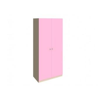 Шкаф 45 Дуб молочный - Розовый