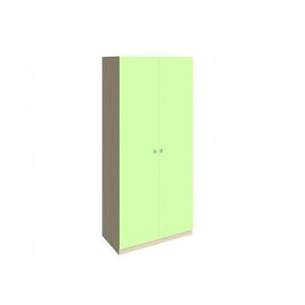 Шкаф 45 Дуб молочный - Салатовый