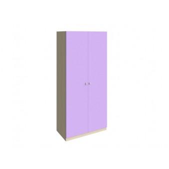 Шкаф 45 Дуб молочный - Фиолетовый