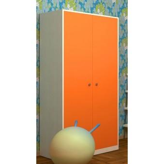 Шкаф 60 Дуб молочный - Оранжевый