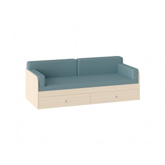 Комплект подушек с покрывалом Голубой