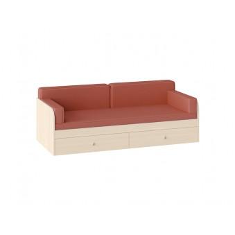 Комплект подушек с покрывалом Оранжевый